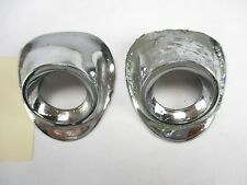 1959 Chevy Impala / All Wiper Escucheons / Bezels L&R OEM
