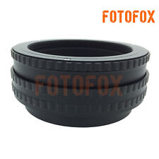 M52 to M42 Adjustable Focusing Helicoid Adapter 17-31mm Macro Extension tube