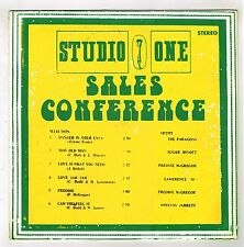 VARIOUS-sales conference (silk screen cover)  LP  studio 1  (hear)  reggae roots