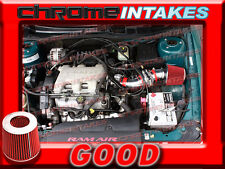 RED 97-05 PONTIAC GRAND AM/ALERO/MALIBU 3.1 3.1L/3.4 3.4L V6 AIR INTAKE TB
