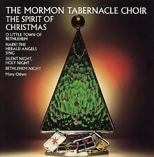 "THE MORMON TABERNACLE CHOIR, CD ""THE SPIRIT OF CHRISTMAS"" NEW SEALED"