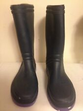 Clarks Rubber Rainboots Navy Blue Sz 4