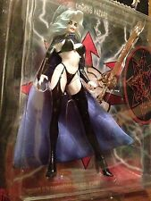 Lady Death & Darkness Vintage Chaos Comics 1997 MOC Sculpted By Clayburn Moore
