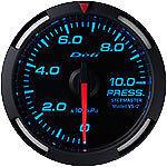 Defi Racer Gauge 52mm Pressure Meter DF06604 Blue