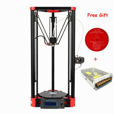 Anycubic Newest Kossel Linear Guide Version 3D Printer DIY Unassemble DIY Red