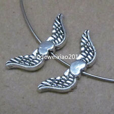 20pc Retro Tibetan Silver Angel wings Spacer Beads  Accessories Wholesale  PL047