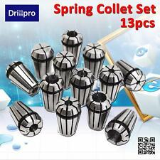 13pcs ER11 Spring Collet Set 1-7mm For CNC Engraving Milling Mahchine Lathe Tool