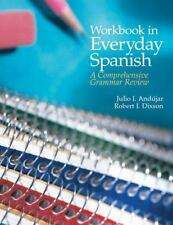 NEW - Workbook in Everyday Spanish: A Comprehensive Grammar Review (4th Edition)