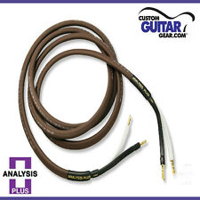 Analysis Plus Chocolate Oval 12/2 Speaker Cable, 6ft Length