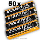50x MIGNON AA LR6 MN1500 Batterie DURACELL INDUSTRIAL Folie