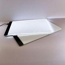 LED Tracing Light Box Artist Board Tattoo A4 Drawing Pad Table Stencil Display *