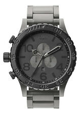 New Authentic NIXON 51-30 CHRONO Watch MATTE BLACK GUNMETAL A083-1062 A0831062
