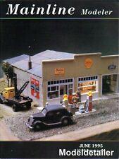 Mainline Modeler June 95 PS-3 BC Boxcar Saint Paige Coal Mines SP GS-1 DL&W MP