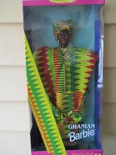 BARBIE ~ Dolls of the World Collector Edition ~ 1996 ~ Ghana Africa GHANIAN DOLL