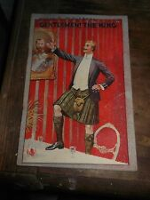 Antique 1920's booklet about Kings & Queens by Carter's Little Liver Pills