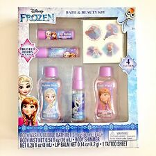 New! Disney Frozen Elsa and Anna Bath & Beauty Kit - 6pcs - Free Shipping