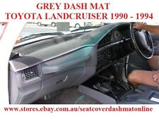 DASH MAT, DASHMAT, DASHBOARD COVER FIT  TOYOTA LANDCRUISER 80ser 1990-1994  GREY