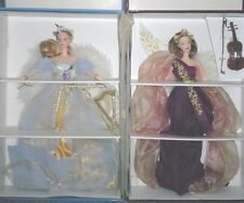 BARBIE ANGELS OF MUSIC COLLECTION 1ST/2ND HARPIST ANGEL & HEARTSTRING ANGEL NEW