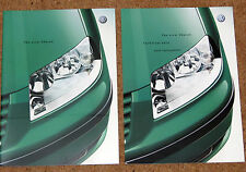 2000 New Model VW SHARAN Sales Brochure & Tech Data - Carat Sport S SE 4MOTION