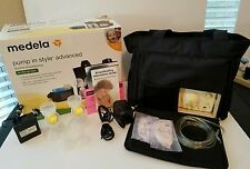 TESTED Medela Breast Pump In Style Model 8P61 with On-the-go Tote