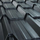 TILE EFFECT ROOFING SHEETS IN MANCHESTER SLATE GREY POLYESTER COATED ROOF SHEETS