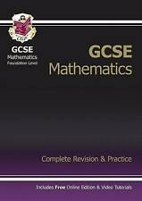 CGP GCSE MATHS FOUNDATION COMPLETE REVISION & PRACTICE KS4 EXAM PAPERS QUESTION