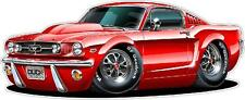 Ford Mustang 1965 Fastback XL 4ft Long Wall Graphic Decal Sticker Poster Cling