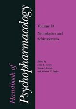 Handbook of Psychopharmacology : Volume 10: Neoroleptics and Schizophrenia...
