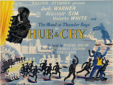 "Hue and Cry 1947 16"" x 12"" Reproduction Movie Poster Photograph"
