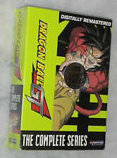 Dragon Ball GT Season One & Two 1 & 2 UNCUT DVD Box Set - NEW SEALED