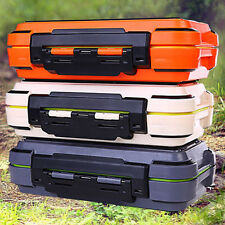 Waterproof Fishing Tackle Carry Tool Box Lure Bait Hook Fly Accessories Case New