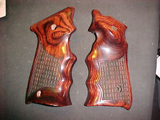 Ruger Mark Mk III ONLY Rosewood Crocodile FG Target Pistol Grips -Beautiful NEW