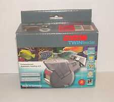 EHEIM TWIN AUTOMATIC FISH FEEDER 3582000. Aquarium, fish food