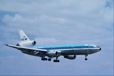 576037 KLM Viasa DC10 30 Londra Heathrow UK A4 FOTO STAMPA