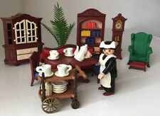 Playmobil 5320 Victorian Mansion Dining Room Library Set  Not A Compete Set*