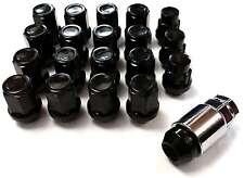 x16 Black Tapered 60 Degree Alloy Wheel Nuts + Locking Nuts MAZDA CX-5 2013