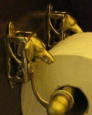 DACHSHUND Bronze Toilet Paper Holder OR Paper Towel Holder!