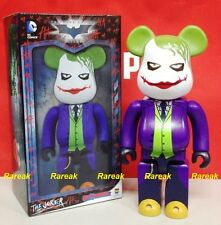 Medicom 2016 Be@rbrick DC Comics Batman Knight 400% The Joker Bearbrick 1pc