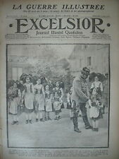 WW1 N° 1664 ALSACE FRONT ITALIEN BOIS D'AILLY GUERRE RUSSO-TURQUE EXCELSIOR 1915