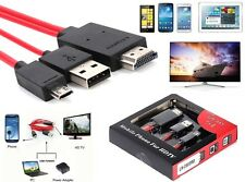 2M MHL USB a HDMI HD TV Cable Adaptador Para Samsung Galaxy Tab 3 10.1 8.0 Tableta
