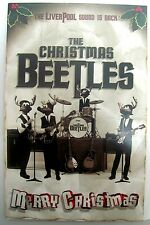 THE BEATLES CHRISTMAS CARD WITH CD PERFORMED BY RUBBER BAND COLLECTABLE ITEM