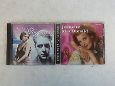 TWO CDs by JANNETTE MacDONALD The Darling Diva w/ NELSON EDDY Always Together