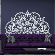 Half Mandala Wall Decals Sticker Fashion Bedroom Decor Boho Bohemian Art MA213