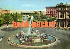 AK/Vintage postcard: ROM/ROMA/ROME:Piazza dell'Esedra e Statione Termini (1955)