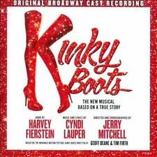 """BRAND NEW CD """"Kinky Boots, The New Musical based on a True Story"""" CYNDI LAUPER"""