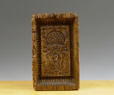 Antique Rare Early Dutch Oak Wafer Beam/Mould Coat of Arms Amsterdam 18th C.