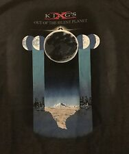 KINGS X cd cvr OUT OF THE SILENT PLANET Official Gray SHIRT XL new