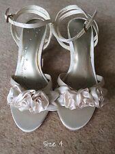 BHS Tatum Wedding Bridal Bridesmaid Shoes Ivory Size  4 6 7 8 BNWT