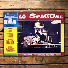 Poster Film Lo Spaccone, The Hustler - Size: 70x100 CM - Paul Newman