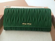100% auth MIU MIU by PRADA wallet NEW (RRP:£420)